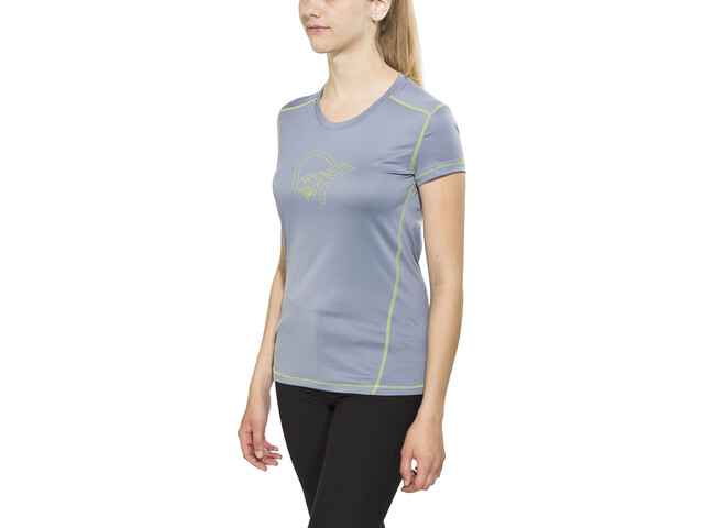 Norrøna /29 tech - Camiseta manga corta Mujer - gris